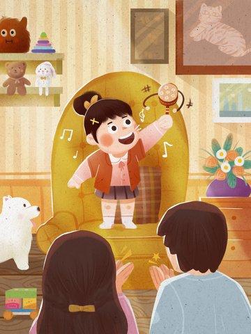 Children children s songs children parent child games llustration image illustration image