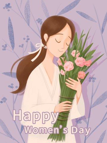creative warm beautiful women s day llustration image