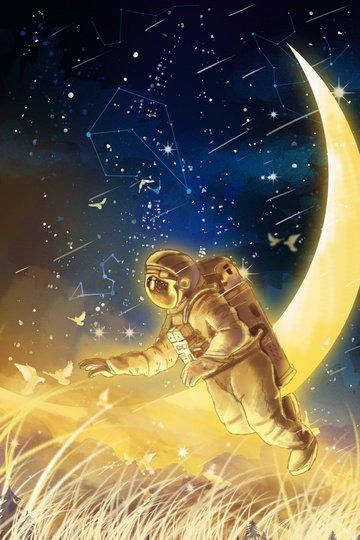 tươi mơ đẹp đầy sao Hình minh họa