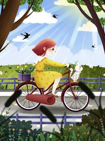 minh họa tươi thân thiện với môi trường minh họa du lịch xanh bảo vệ môi trường carbon thấp Hình minh họa