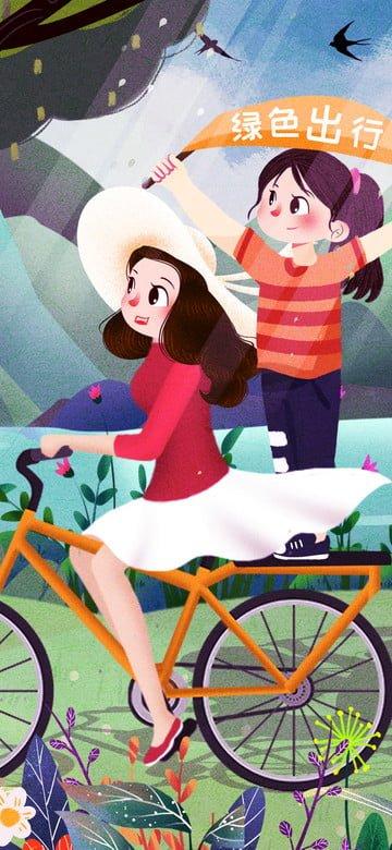 オリジナル イラスト グリーン旅行 旅行キャラクター イラスト素材 イラスト画像