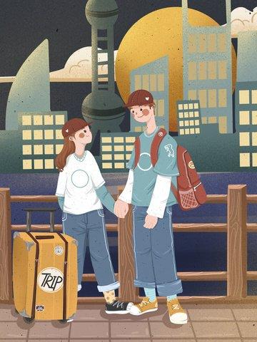 small fresh cute couple sweet Ресурсы иллюстрации Иллюстрация изображения