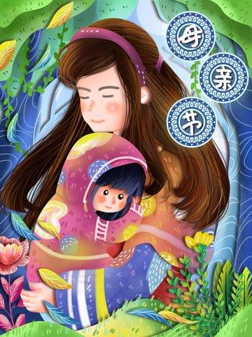 thanksgiving mothers day parent mother Иллюстрация изображения