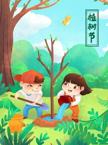 cây trồng bảo vệ môi trường ngày minh họa Hình minh họa Hình minh họa