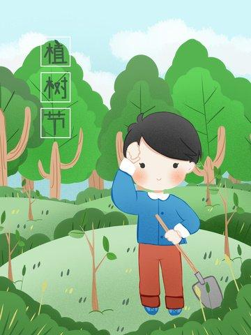 trồng cây xanh bảo vệ môi trường trồng cây Hình minh họa Hình minh họa
