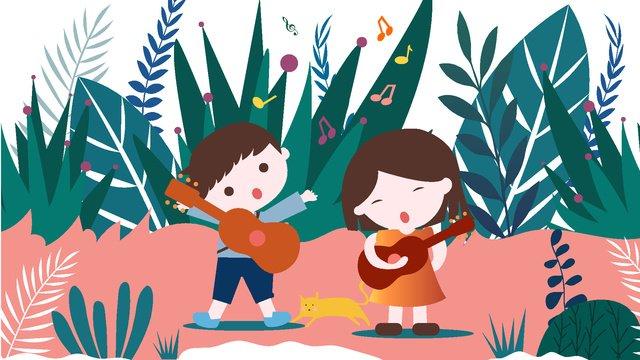 world children childrens lyrics children singing happy children Ресурсы иллюстрации