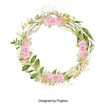 วงกลม ดอกไม้ ล้อมรอบ สีชมพู สี่จุด สีเหลืองวงกลม  ดอกไม้  ล้อมรอบ PNG และ PSD