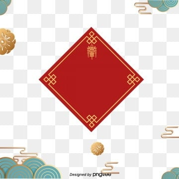 Red Festival Traditional Chinese New Year Elements illustration image