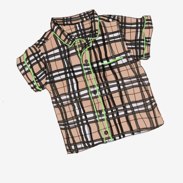 77b4f70f0 burberry plaid shirt childrens wear coat coat cartoon costume, Cartoon  Clothes, Khaki Plaid Shirt
