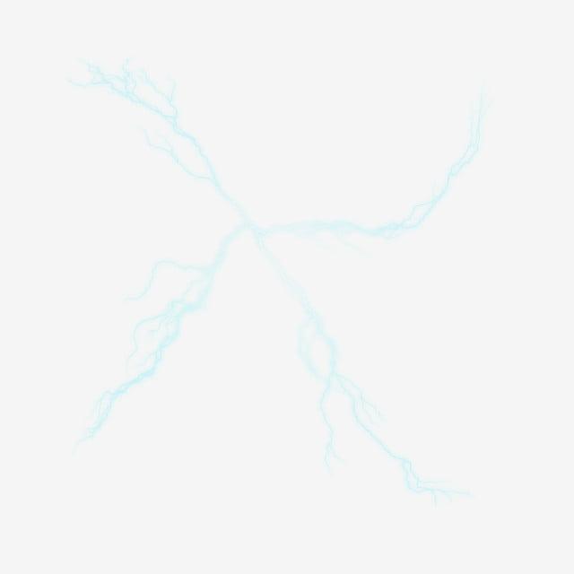 éclair Bleu éclater Beau Modèle Foudre Ouverture éclater