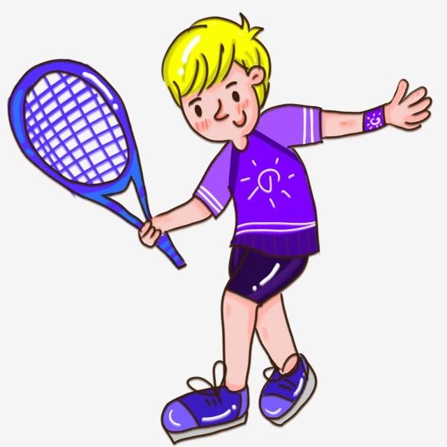 aba54d0fe2267 Garçon jouant au tennis Enfant Les sports Jouer au basket Gratuit PNG et PSD