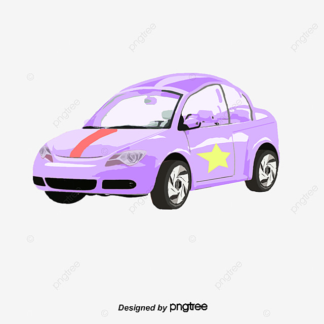 Car Cartoon Car Black And White Car Beautiful Car, Simple