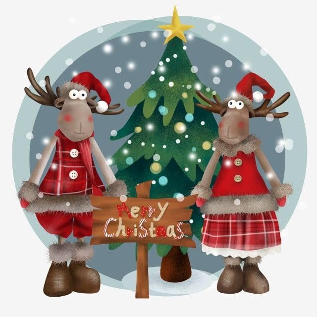 Christmas Night Christmas Christmas Merry Christmas Rudolf