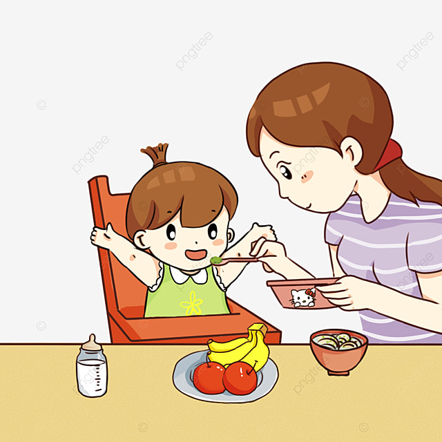 Картинка для детей кормить