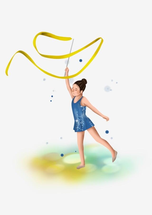 léducation physique jeu petite fille lart de la gymnastique enfant