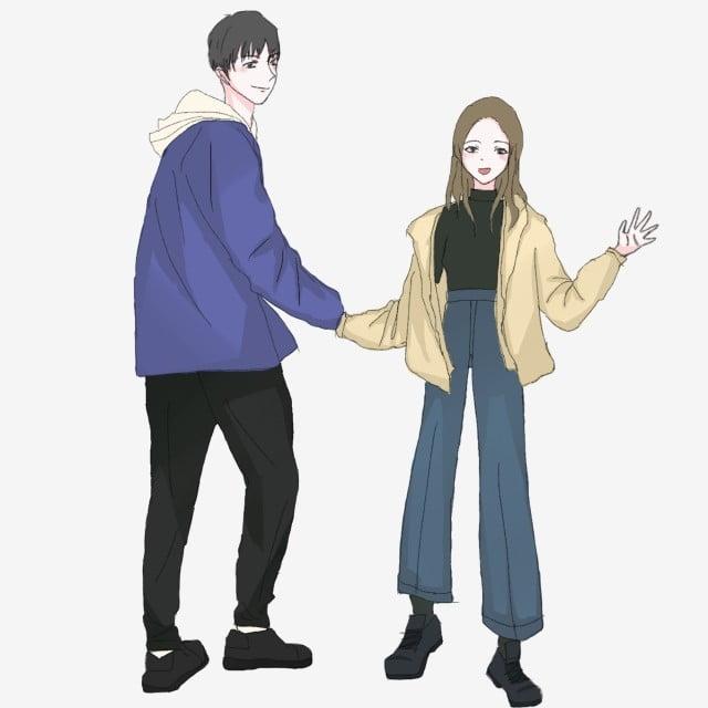 スポーツウェアファッションカップル 素敵なカップル カップルショー カップルを表示 スポーツウェアファッションカップルイラスト 韓国風 カップルイラスト 素敵なカップル画像とpsd素材ファイルの無料ダウンロード Pngtree