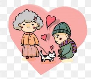 高齢者の世話 老人を尊重し、老人を愛する 高齢者への敬意 長老を尊重する, 高齢者を尊重する, 高齢者の世話, 高齢者への敬意 PNGとPSD
