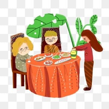 高齢者の世話 老人を尊重し、老人を愛する 高齢者への敬意 長老を尊重する, 高齢者を尊重する, 高齢者との食事, 老人を尊重し、老人を愛する PNGとPSD