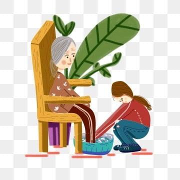 高齢者の世話 老人を尊重し、老人を愛する 高齢者への敬意 長老を尊重する, 高齢者の世話, 老人を尊重し、老人を愛する, お年寄りを訪問 PNGとPSD