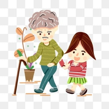 高齢者の世話 老人を尊重し、老人を愛する 高齢者への敬意 長老を尊重する, 家族の夕食, 親戚を訪問, 高齢者への敬意 PNGとPSD