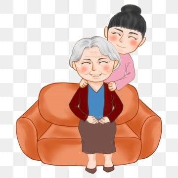 高齢者の世話 老人を尊重し、老人を愛する 高齢者への敬意 長老を尊重する, 高齢者の世話, 高齢者を尊重する, 家族の夕食 PNGとPSD