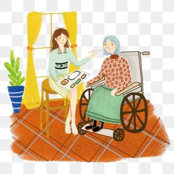 高齢者の世話 老人を尊重し、老人を愛する 高齢者への敬意 長老を尊重する, 家族の夕食, 老人を尊重し、老人を愛する, 痴女老人 PNGとPSD