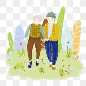 高齢者の世話 老人を尊重し、老人を愛する 高齢者への敬意 長老を尊重する, 老人を尊重し、老人を愛する, 高齢者への敬意, 高齢者との食事 PNGとPSD