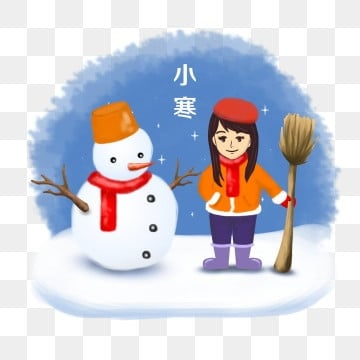 girl snowman snow osamu festival light snow heavy snow, Winter, Poster, Snow Sweeping PNG and PSD