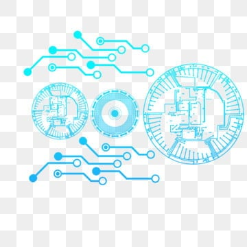 line technology blue light digital, Electronic, Business Background Light Effect, Digital Light Effect PNG and PSD
