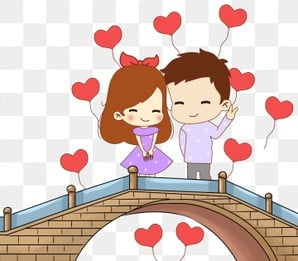 45 Gambar Kartun Couple Romantis Terpisah HD Terbaik