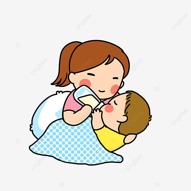 Bayi Dalam Belenggu Ibu Menyusu Anak Lapar Ibu Penyayang Ibu Anak