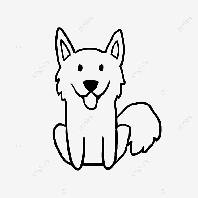 Kartun Anjing Kanak Graffiti Graffiti Anjing Hitam Dan Putih Fail
