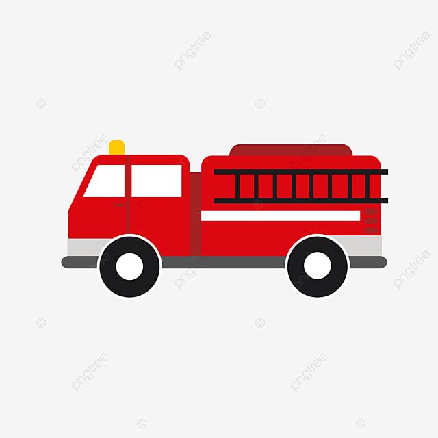 Camion De Pompiers Extinction Q Version Cartoon 119 Red