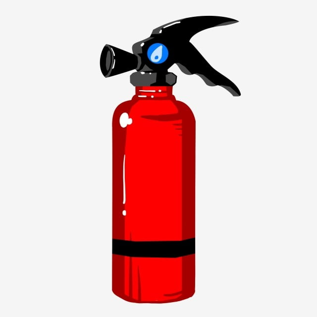 Red Fire Extinguisher Metal Products Hand Drawn Fire Extinguisher Illustration Cartoon Illustration Pressure Dial Black Lines Red Fire Extinguisher Png Transparent Clipart Image And Psd File For Free Download