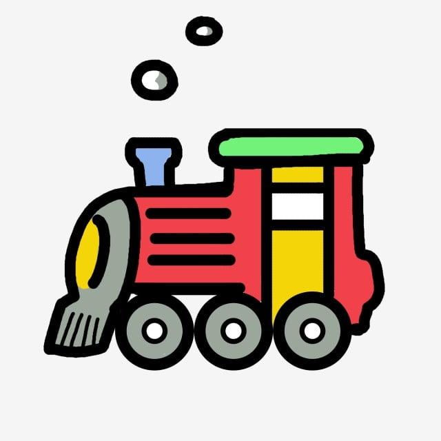 Gambar Kereta Api Kartun Berwarna Lukisan Kereta Api Kartun Cikimm Com