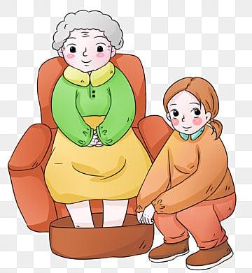 手描き漫画感謝祭の孝行 高齢者の世話 高齢者への敬意 高齢者の世話 ありがとう ありがとう 感謝祭 西部のお祭り 足を洗う 孝行 感謝祭 ありがとう 与える 日, 高齢者の世話, 高齢者への敬意, 高齢者の世話 PNGとPSD