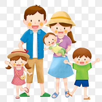 family family family of five travel, Family Clipart, Tourism, Party PNG and PSD