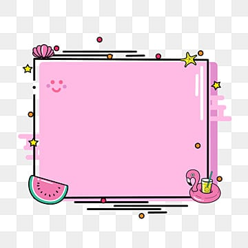 Cute Border Png Images Vector And Psd Files Free Download On Pngtree