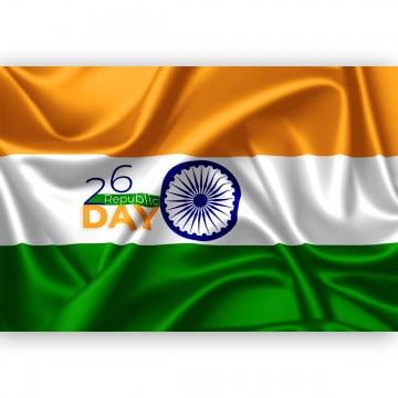 Republic day india flag images