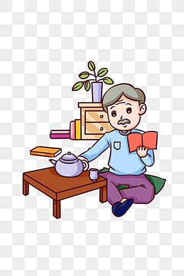 崇陽祭りテーマおじいちゃんお茶を飲む漫画イラスト 漫画を読んでお茶を飲む古いおじいちゃん chongyangは古い人を尊重します chongyangが高く登る ダブルナインスフェスティバルの背景 ダブルナインスフェスティバルの風景 ダブルナインスフェスティバル漫画 漫画イラスト, 崇陽祭りテーマおじいちゃんお茶を飲む漫画イラスト, 漫画を読んでお茶を飲む古いおじいちゃん, Chongyangは古い人を尊重します PNGとPSD