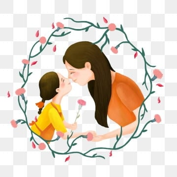 orange orange mothers day mother festival, Poster Decoration, Business, Warm Hand Drawn Style PNG and PSD