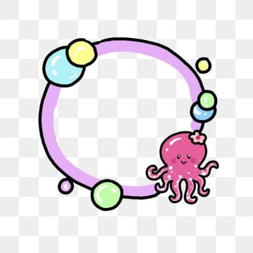 Creative Octopus PNG Images   Vector and PSD Files   Free
