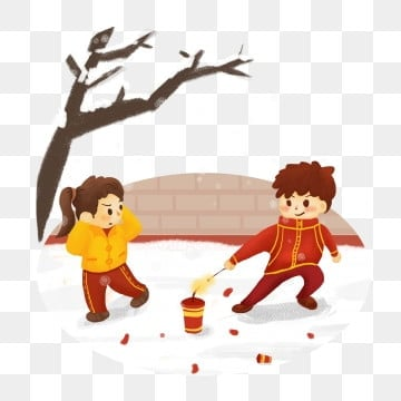 Free Download Children Playing With Firecrackers Nuts