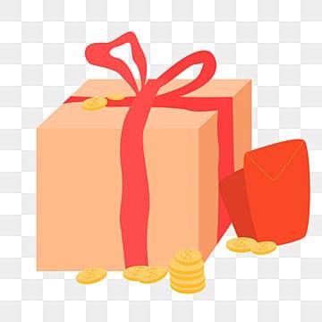 Cartone animato confezioni regalo png vettori psd e clipart per il