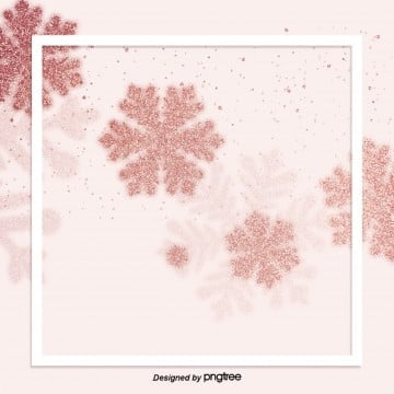 rose gold snow brief and delicate high end frame decoration background, Geometry, Luxurious, Shading PNG and PSD
