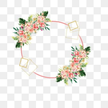 Rose Frame Png Images Vectors And Psd Files Free Download On Pngtree