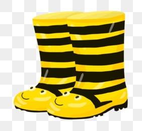 Vector Yellow Rain Boots Umbrella, Rain Boots, Umbrella ... - photo #41