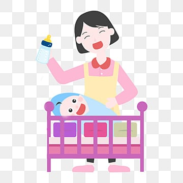 Baby And Mom Smile, Smile Clipart, Baby Clipart, Cartoon ...