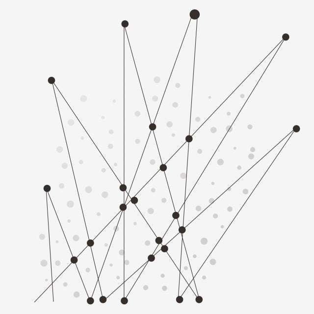 Abstract Geometry Dotted Line Graphic Line Shading