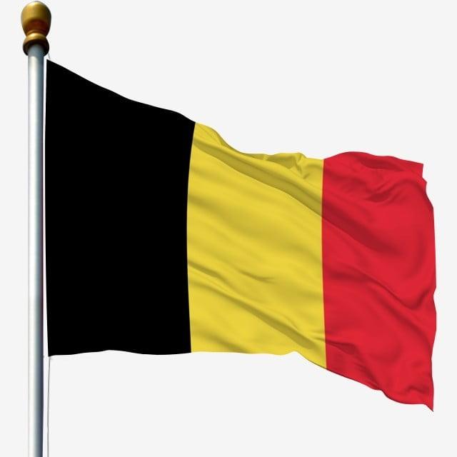 Belgium National Flag Waving Flag Flagpole Flag, Flagpole ...